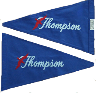 Embroidered Burgee